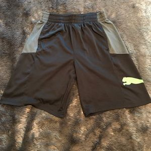 Youth Puma basketball shorts